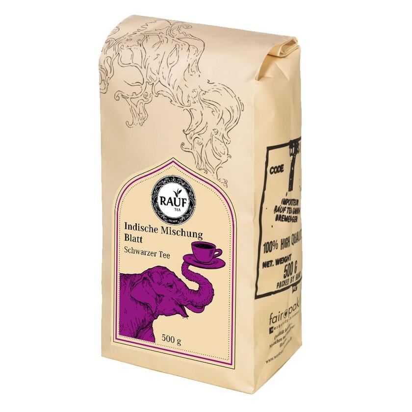 Rauf Tee Indische Mischung Blatt 500g
