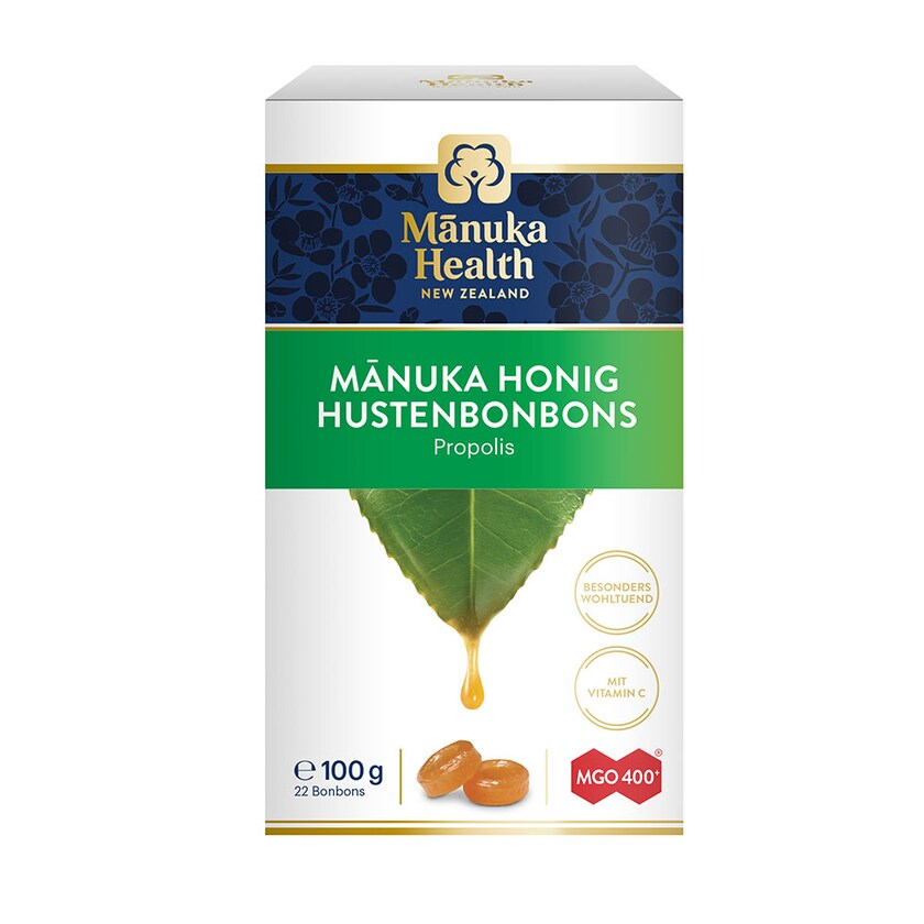 Manuka Health Manuka MGO™ 400+ Propolis-Lutschbonbons 100g