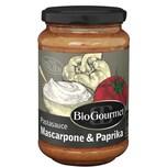 BioGourmet Pastasauce Mascarpone & Paprika 340g