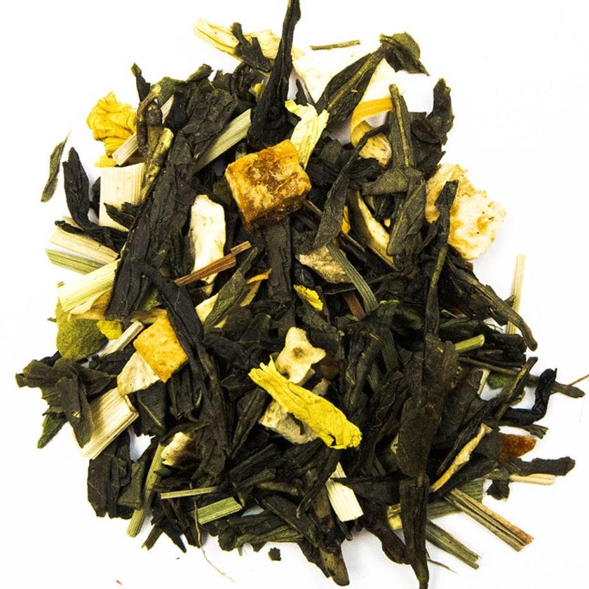 Schrader Grüner Tee Orange-Ingwer, natürlich 125g