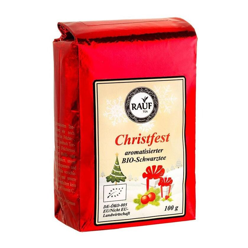 Rauf Tee BIO Christfest 100g