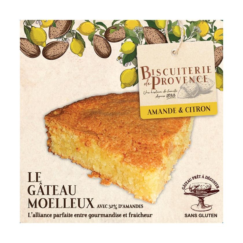 Biscuiterie de Provence Mandelkuchen mit Zitrone 240g