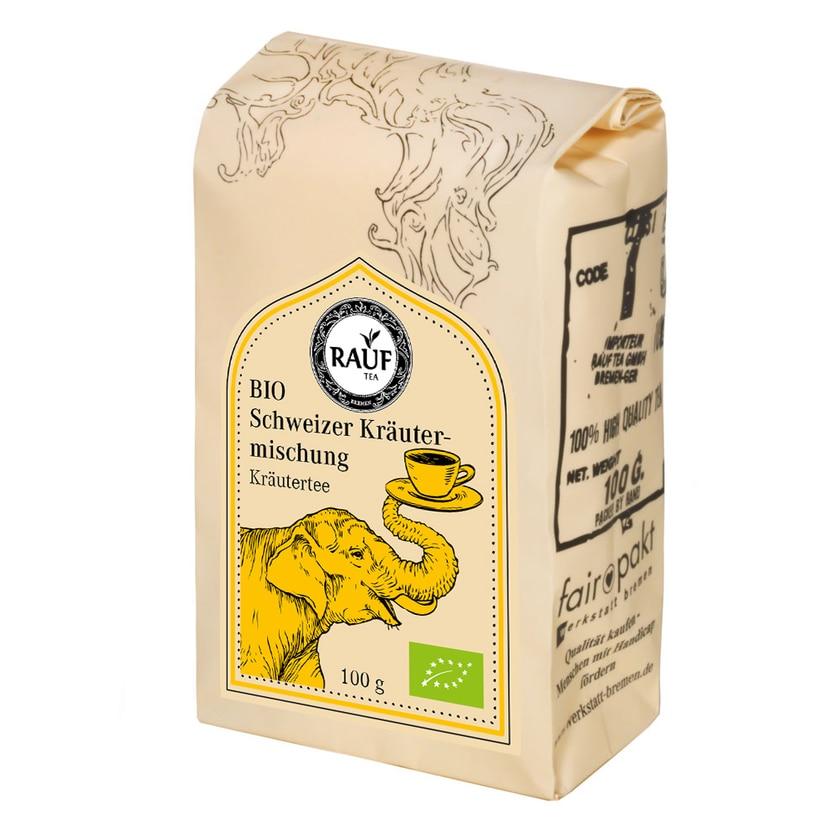 Rauf Tee BIO Schweizer Kräutermischung 100g