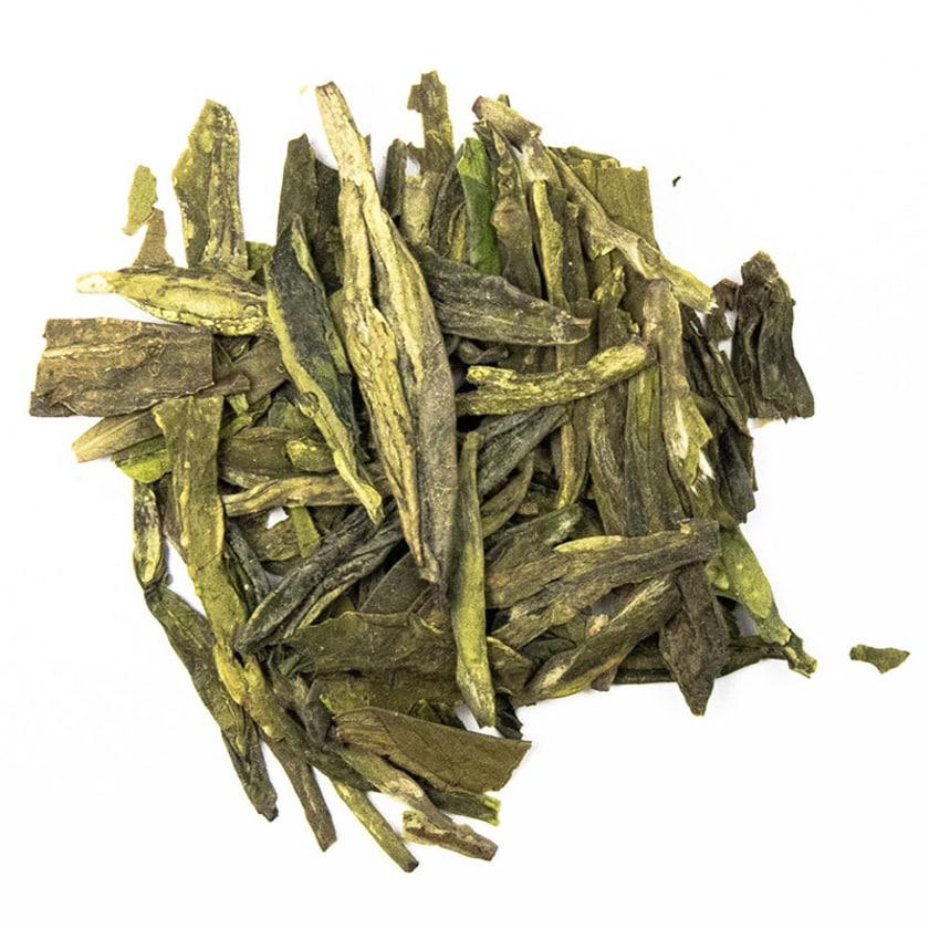 Schrader Grüner Tee China Taohua Lung Ching First Grade Bio 100g