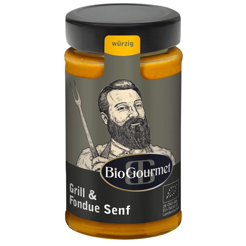BioGourmet Grill & Fondue Senf Bio 200ml