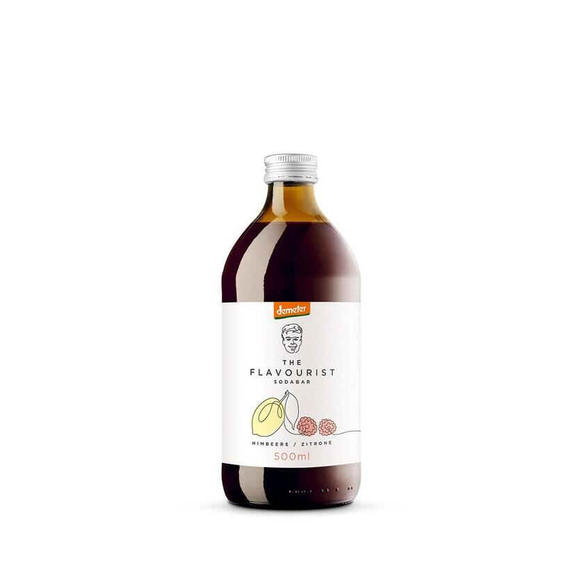 The Flavourist Bio Himbeer Zitrone Demeter Getränkesirup 500 ml