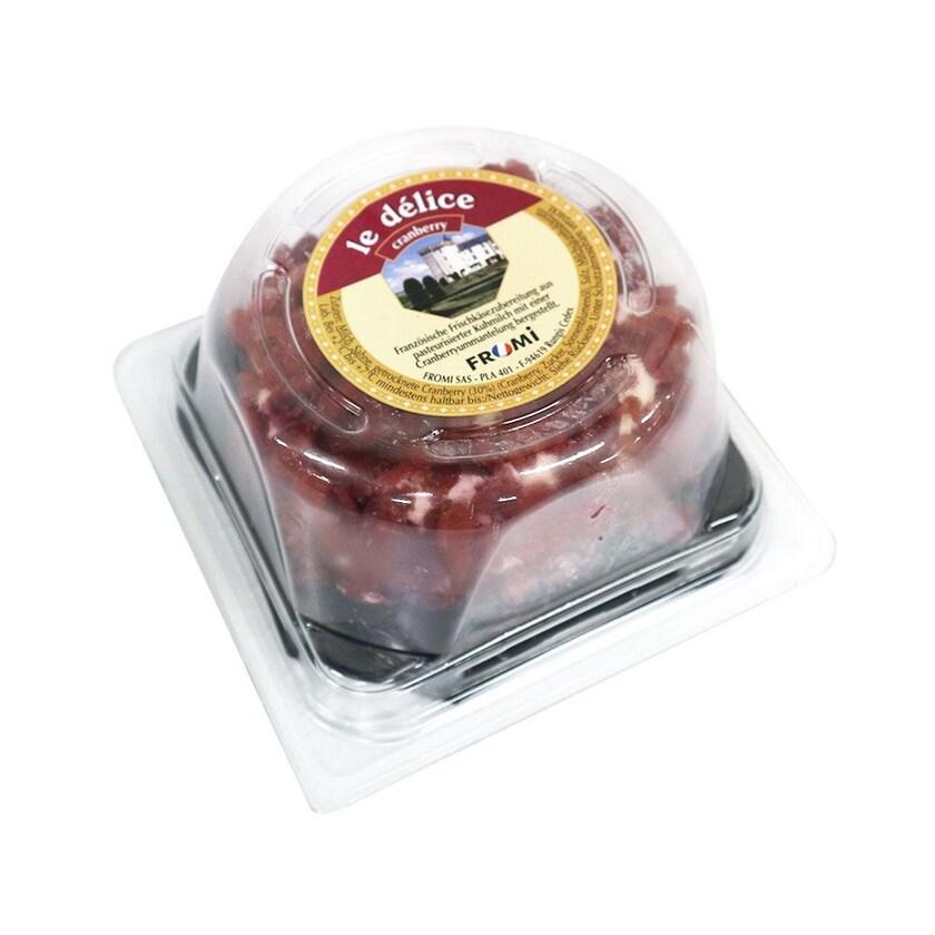 Fromi Käse Brillat Savarin Cranberry aus dem Burgund, im Stück 200g