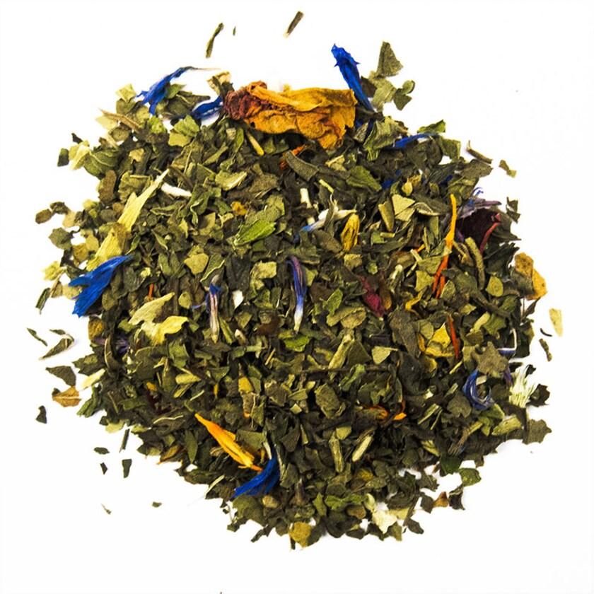 Schrader Grüner Mate Tee Grün Mint 100g