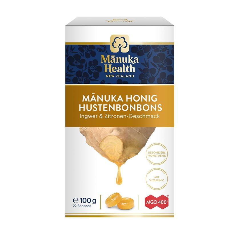 Manuka Health Manuka MGO™ 400+ Lutschbonbons Ingwer Zitrone 100g