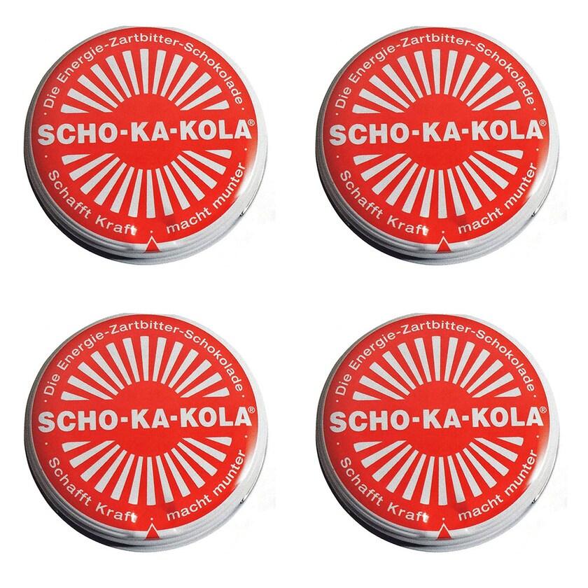 Scho-Ka-Kola Zartbitterschokolade 4er-Set 400g