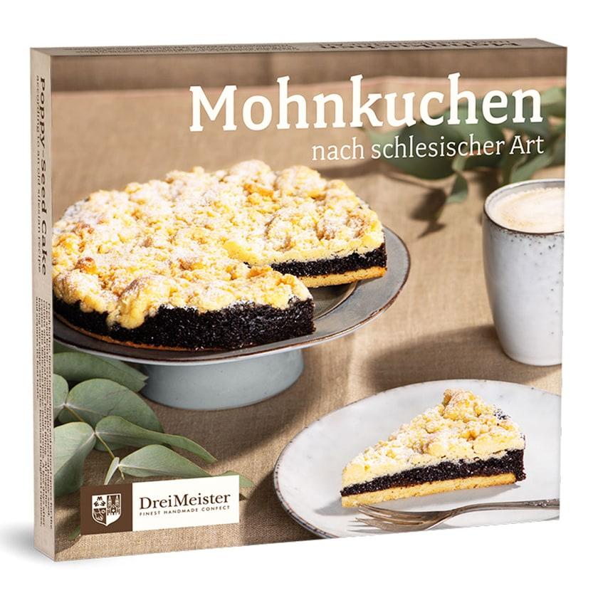 Dreimeister Schlesischer Mohnkuchen 800g
