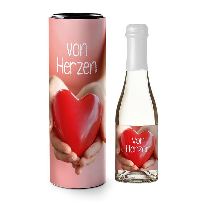 La Vida Piccolo-Sektflasche Von Herzen 0,2l