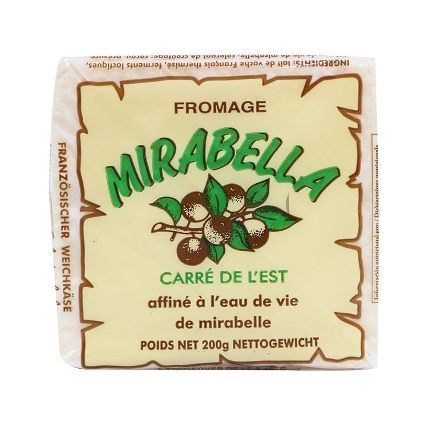 Fromi Französischer Weichkäse mit Mirabellenschnaps, im Stück 200g