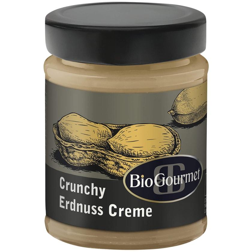 BioGourmet Crunchy Erdnuss Creme 250g