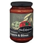 BioGourmet Pastasauce Kapern & Oliven 340g