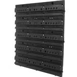 BigDean Wandregal Basisplatte für Lagerregal - Wandregal mit Stapelboxen