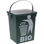 BigDean Biomüll Mülleimer Biomülleimer Müll Eimer Komposteimer 5 Liter