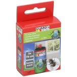 BigDean 3 Stück Leimrollen - Fliegenfalle Fliegenfänger - Insektenfänger - Klebefalle - auch für Fenster - Fliegenklebefalle