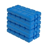 BigDean 6er Set Kühlakkus - 200 ml - Kühlleistung über 6 Std. - Made in Europe - kleine Kühl Akkus für Kühltasche & Kühlbox - blaue Kühlpacks Kühlelemente