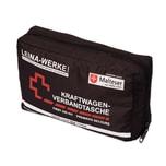 Leina-Werke KFZ Verbandtasche Verbandskasten für Auto PKW Erste Hilfe Set DIN 13164 schwarz