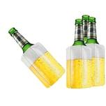 BigDean 4x Bier Kuehlmanschette Bierkühler Flaschenkühler Getränkekühler