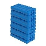 BigDean 10er Set Kühlakkus - 200 ml - Kühlleistung über 6 Std. - Made in Europe - kleine Kühl Akkus für Kühltasche & Kühlbox - blaue Kühlpacks Kühlelemente