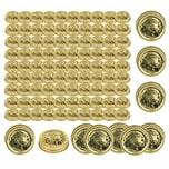 Bormioli Rocco 100x Quattro Stagioni Metallschraubdeckel TO 86mm - Ersatzdeckel für Einmachgläser - Schraubverschluss