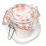 Bormioli Rocco Drahtbügelglas Fido 500 ml quadratisch Einmachglas Dessertglas Vorspeisenglas Einkochglas