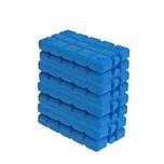 BigDean 8er Set Kühlakkus - 200 ml - Kühlleistung über 6 Std. - Made in Europe - kleine Kühl Akkus für Kühltasche & Kühlbox - blaue Kühlpacks Kühlelemente