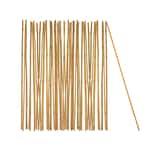 BigDean Pflanzstab Bambusstab 105 cm x 8 - 10 mm Bambus Rankhilfe Pflanzstab Tonkinstab 100% Naturprodukt Pflanzstäbe Bambusstäbe Bambusstangen