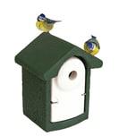 BigDean Nisthöhle Nistkasten für Kleinvögel Einflugloch 28 mm Meisenkasten Vogelhaus aus Holzbeton