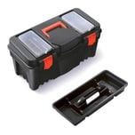 BigDean Werkzeugkiste aus Kunststoff 55 x 26,7 x 27 cm - Sortierbox Sortimentskasten Werkzeugkoffer leer Werkzeugbox