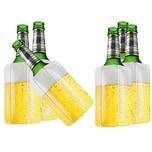 BigDean 6x Bier Kuehlmanschette Bierkühler Flaschenkühler Getränkekühler