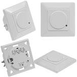 ChiliTec Unterputz HF Bewegungsmelder 160° LED geeignet 3-Draht Technik weiß
