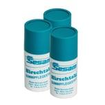 Sesam 3x Hirschtalgstift 25 ml Pflegestift für Gummidichtungen Türdichtungen Fensterdichtungen PKW Haus usw. bis -20 Gra