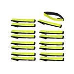 Filmer 16 Stück Sicherheits Reflektorbänder Reflektorband LED Fahrrad Sicherheits Armreflektoren