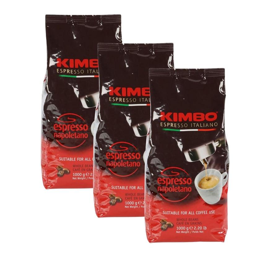 Kimbo Napoletano Espressobohnen 3kg (3 x 1kg)