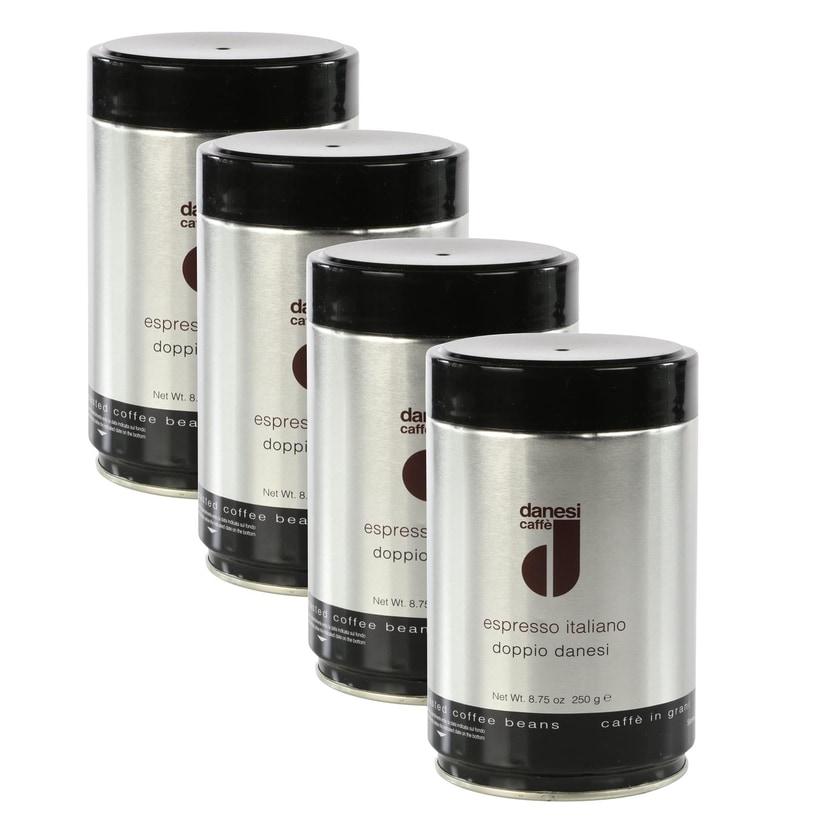 Danesi Doppio Espressobohnen in der Dose 1kg (4x250g)