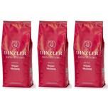 Dinzler Kaffeerösterei Wiener Mischung Kaffeebohnen 3kg (3 x 1kg)