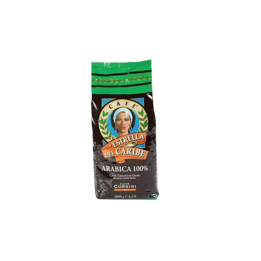 Caffè Corsini Estrella Del Caribe 100% Arabica Espressobohnen 1kg
