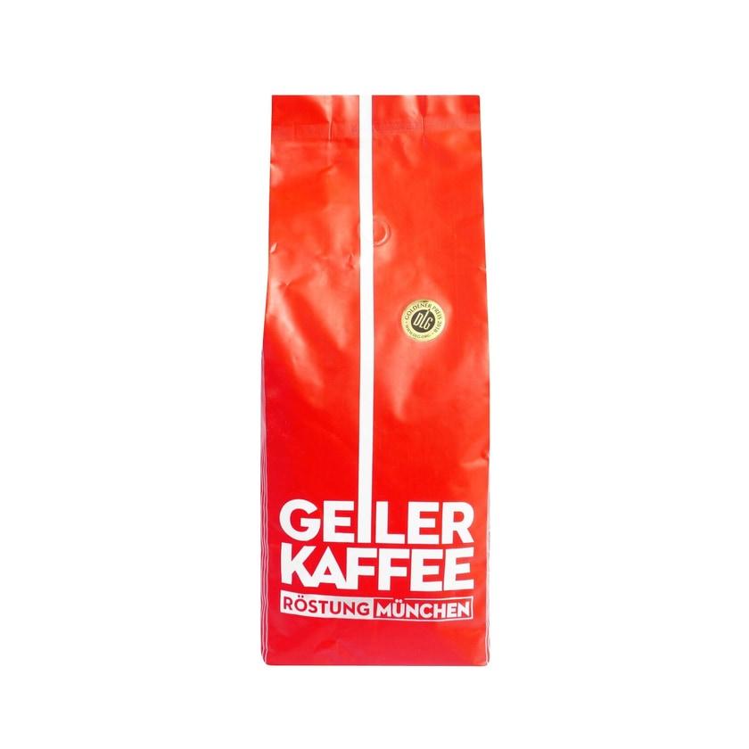 Geiler Kaffee Röstung München Espressobohnen 1kg