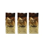 Pellini Aroma Oro, 3kg, Espressobohnen (3 x 1kg)