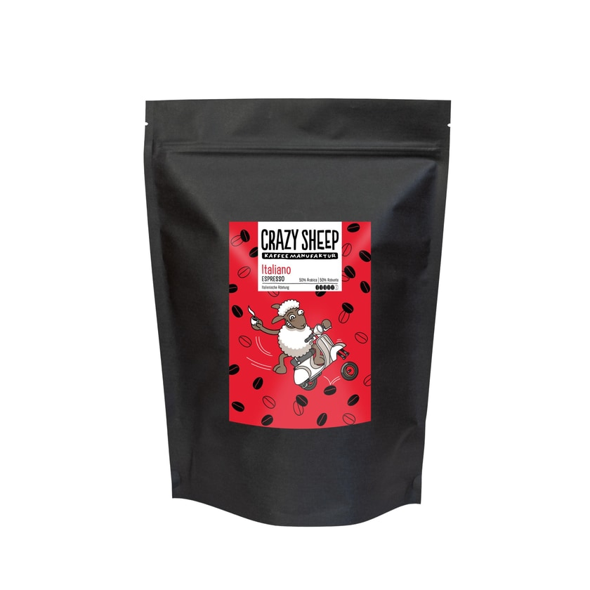 Crazy Sheep Kaffeemanufaktur Italiano Espressobohnen