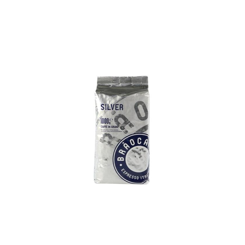 Brao Caffé Silver 1 Kg Ganze Bohne