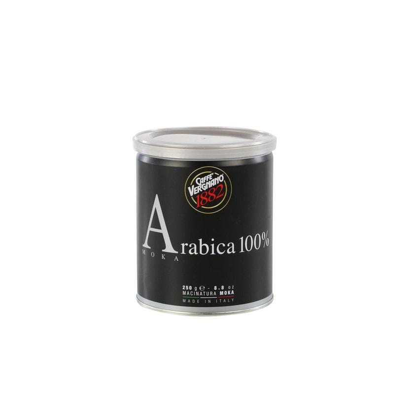 Caffè Vergnano 100% Arabica Moka Gemahlener Kaffee 250g