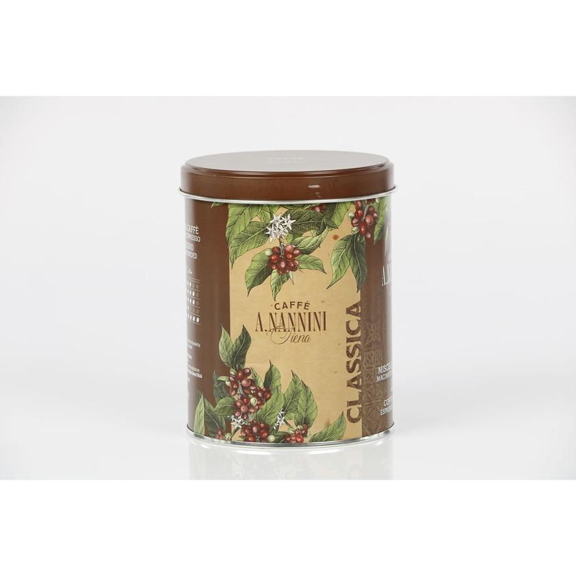 Nannini Classica Tradizione Gemahlener Espresso In Der Dose 250g