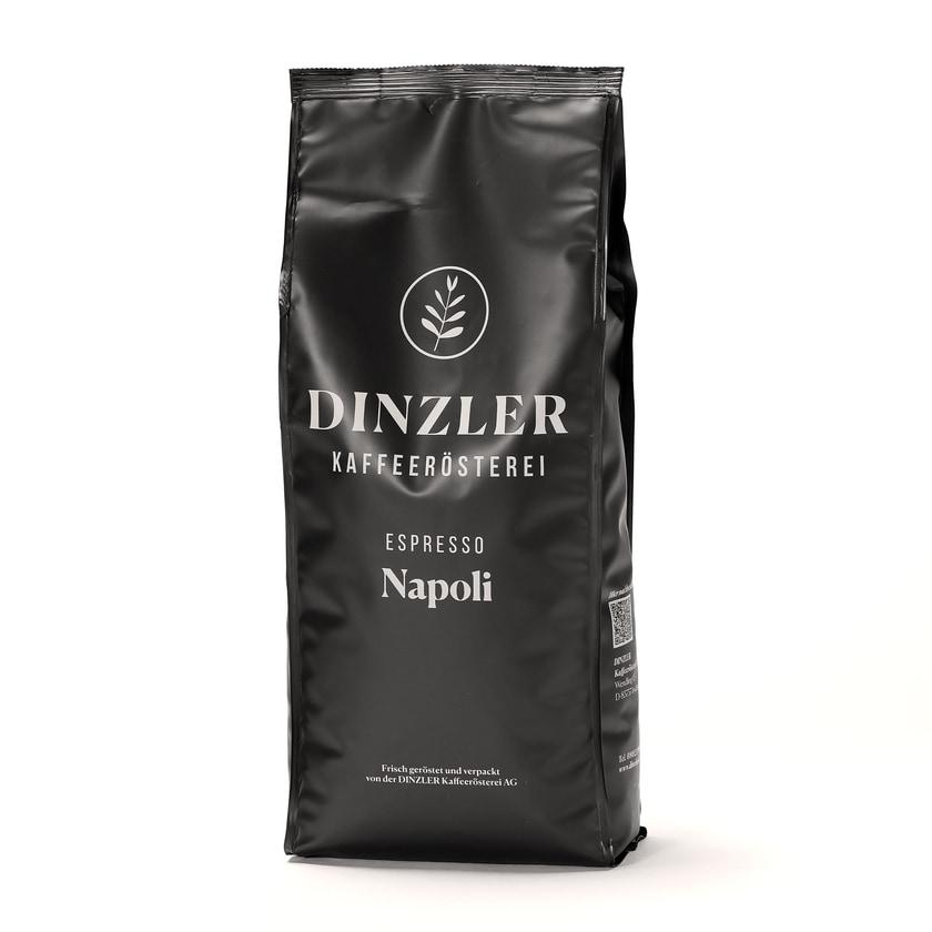 Dinzler Kaffeerösterei Espresso Napoli Ganze Bohne 1kg