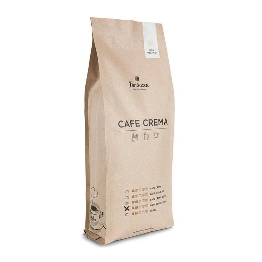 Fortezza Café Crema India Plantation Espressobohnen 1kg