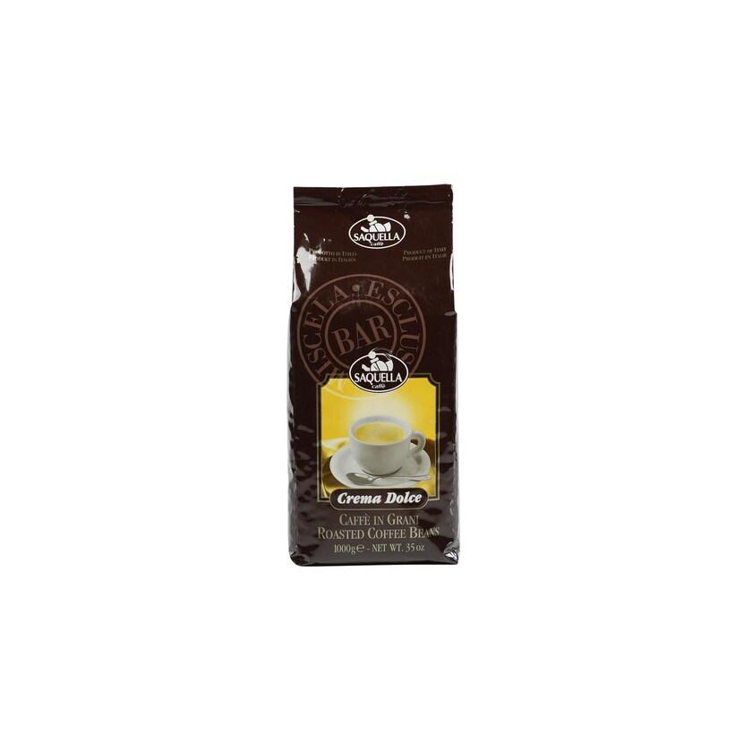 Saquella Crema Dolce Bar Espressobohnen 1kg