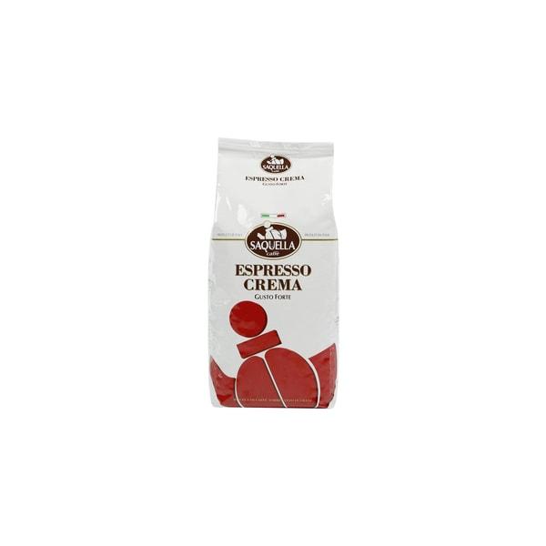 Saquella Espresso Crema Gusto Forte Espressobohnen 1kg